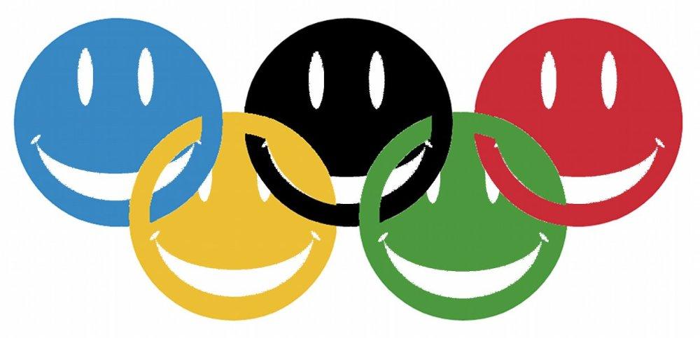 Olympics make me smile!