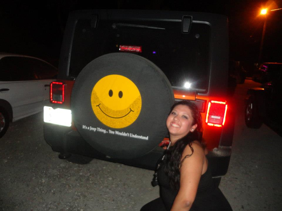 Reader Submitted Scruffy Jeep Smiley Smile