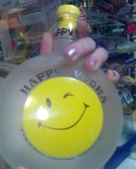 Happy Vodka. Submitted by Jay.